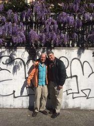With my dear teacher David Del Tredici, Milan 2015