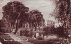 Avon River Christchurch 1922