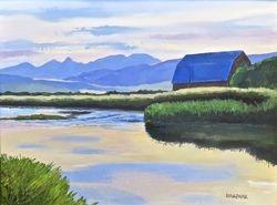 Blue Sunrise on Salt River
