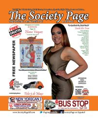 Eliana Vasquez  Cover girl Issue#58 May 2015 The Society Page SP