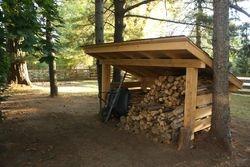 Firewood Shelter