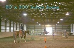 The Indoor Arena 60' x 200'