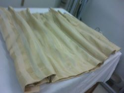 Old boat drapes
