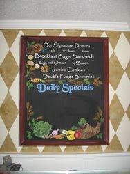 Breakfast Menu- Specials
