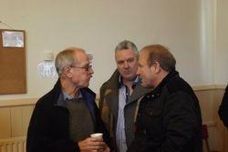 Johnny Saint, Peter Thompson, Mal Sanders