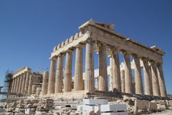 The Panthenon is also undergoing much renovations trying to restore so it is not lost to time forever
