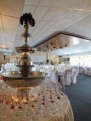 Champagne Fountain hire in Barnsley