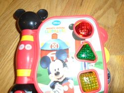 Disney Mickey Mouse Clubhouse First Learning Book, Shapes and Sounds - $7