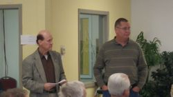School Board Members Ron Price & Brent Huss