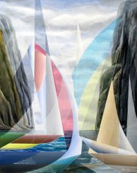 Pink Spinnakers-Kevlar sails