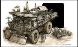 Fury road Truck concept