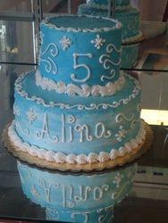 Frozen Theme Cake