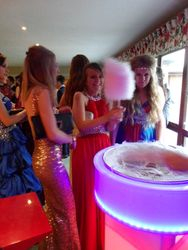 School Prom Leicestershire Candy Floss Hire