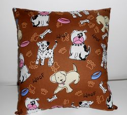 Doggy pillow on Etsy SOLD