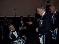Wor. Roger Trueblood, 50 Year Medal Recipient