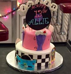 50's cake