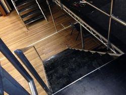 Aluminium stair cases