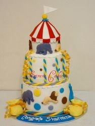Carnival Themed cake(B170)