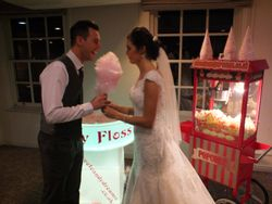 Candy floss machine hire at aston hall sheffield 2016