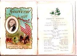 1908 Ninety Six Grade School graduates