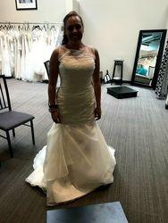 Wedding dress - Before alteration