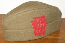 CCC Hat of Paul Dillon