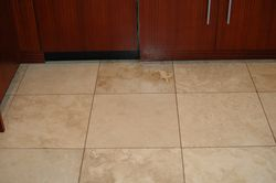 Kitchen Dirty Grout