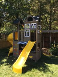 KidKraft Devonshire swing set assembly in rockville Maryland