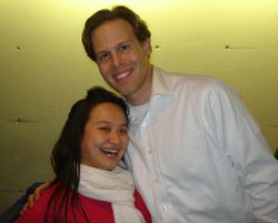 After Suor Angelica with Maestro Andrew Altenbach