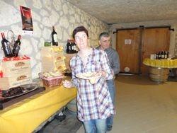 Petit déjeuner chez Chateau Barrejat, Maumusson