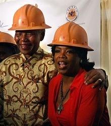 Mandela and Oprah