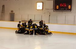 TEAM MB boys before GOLD game