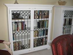 Twin bookcases