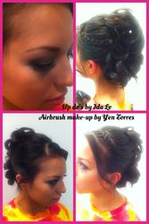 Prom Up-dos & Airbrush Make-up