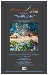 The Gift of Art Show Poster