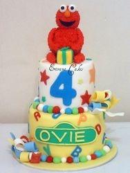 Elmo cake 4 (B200)