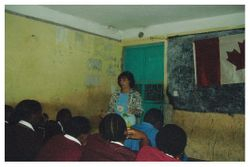 Teaching Bible in School Limuru Kenya