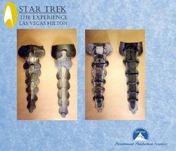 "Klingon spine armor, ""Star Trek:  The Experience"" at the Las Vegas Hilton"