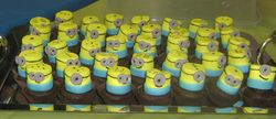 Minion Marshmallows and Brownies
