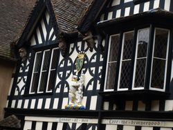 The Earl of Warwick's crest
