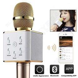 Microphone Mic Speaker Wireless Bluetooth Handheld KTV Karaoke For Phone