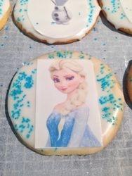 Elsa Cookies (Frozen)