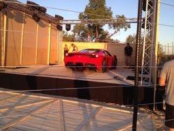 Ferrari in the box