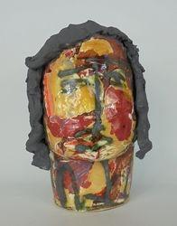 Mary Jones Ceramics. He's somewhere else now.