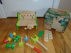 Maxim Enterprise Little Classic EverEarth Wood Work Bench - $15