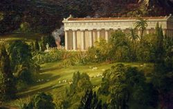 Cole, Dream of Arcadia, 1838, Denver
