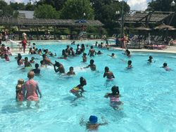W.A.Y.S. at Piedmont Park Swimming pool!