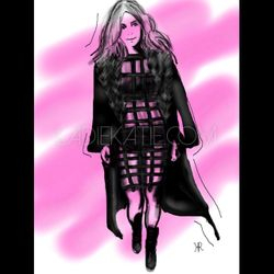 Kim Kardashian Illustration