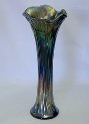 Nine Sixteen vase, blue