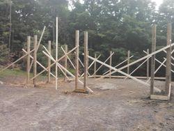 Setting Poles